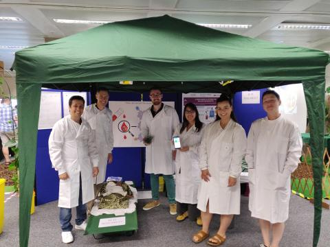 The Paediatric Infectious Diseases Team in the Malaria Clinic